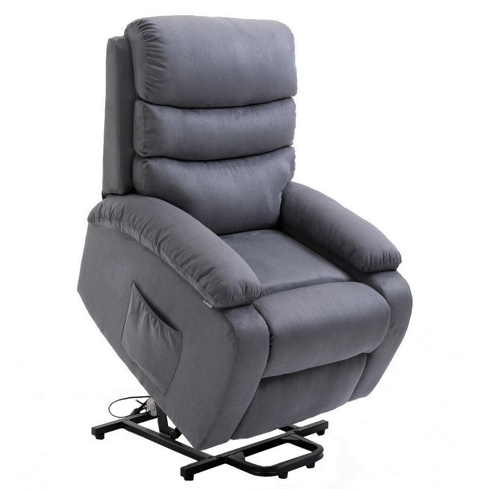 Groovy Details About Homegear Microfiber Power Lift Electric Recliner Chair W Massage Heat Ibusinesslaw Wood Chair Design Ideas Ibusinesslaworg